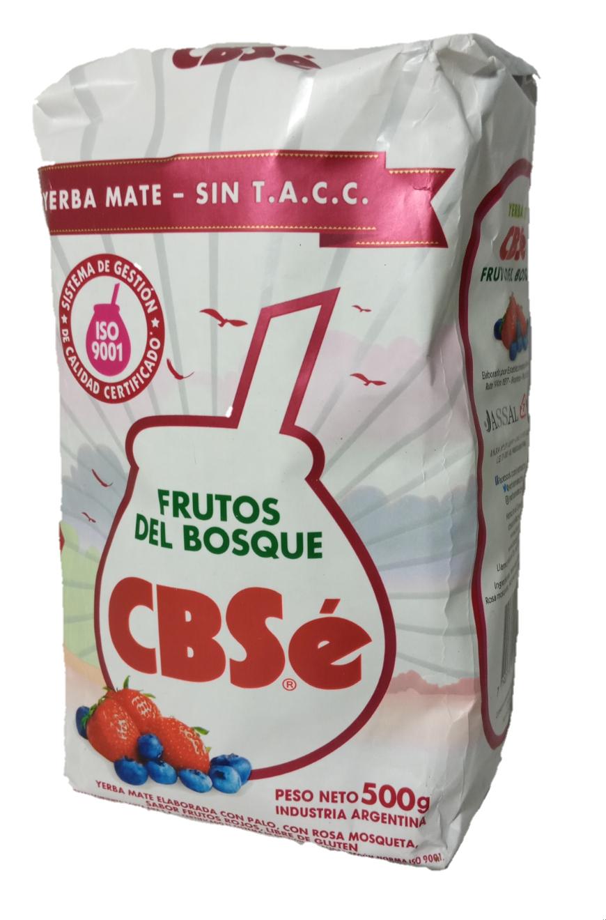 Yerba Mate Cbse Frutos Del Bosque 500 Gms Bienvenidos A El Paraguayito